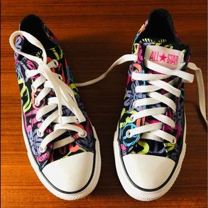 Converse All Star Floral Sneakers